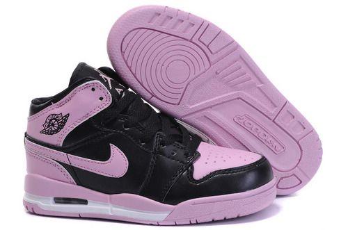 2b8b21ac496b66  85.97 Kid s Nike Air Jordan 1+3 Shoes Black Light Pink