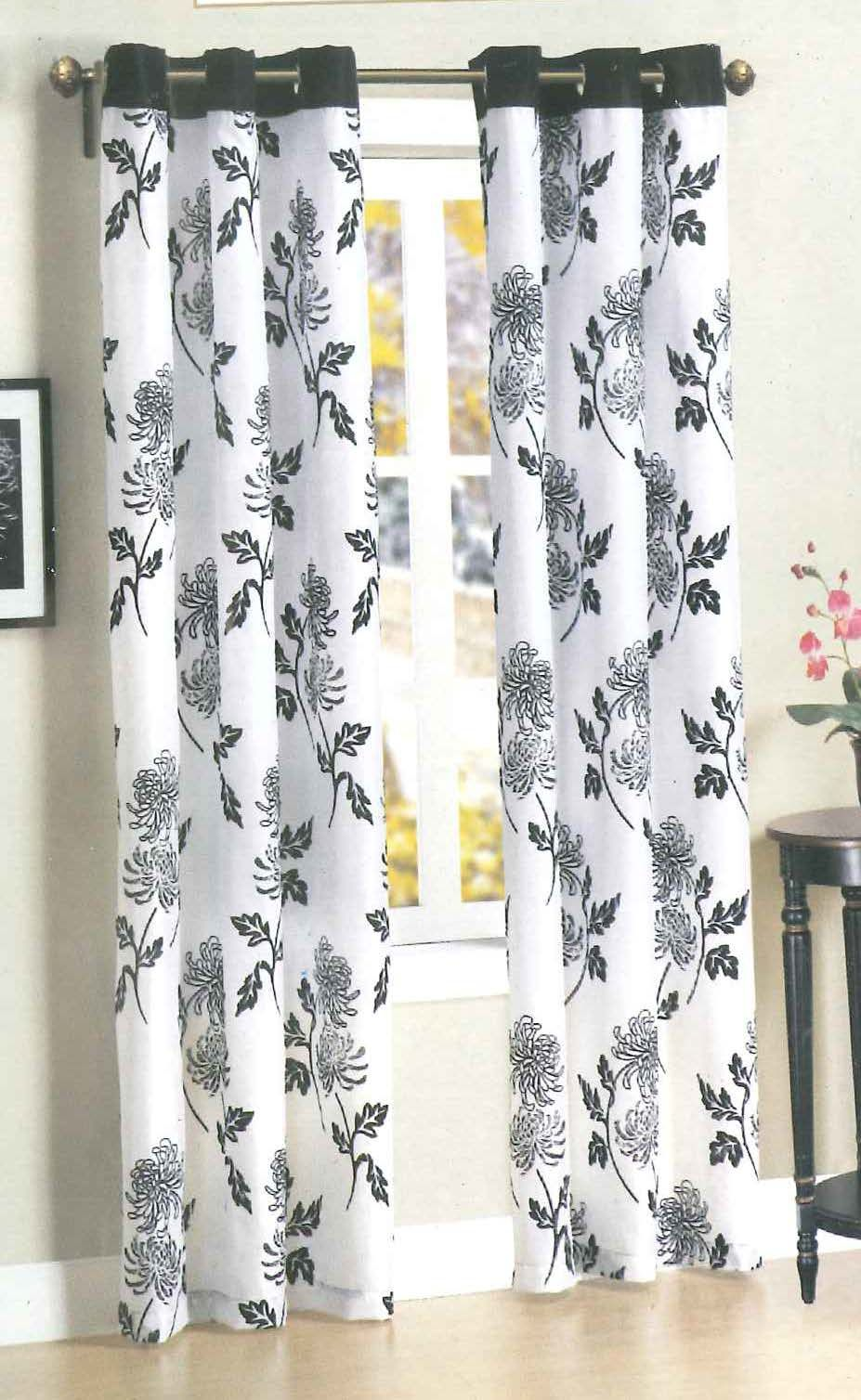 Pretty Curtains Found At Family Dollar For 1050 Panel