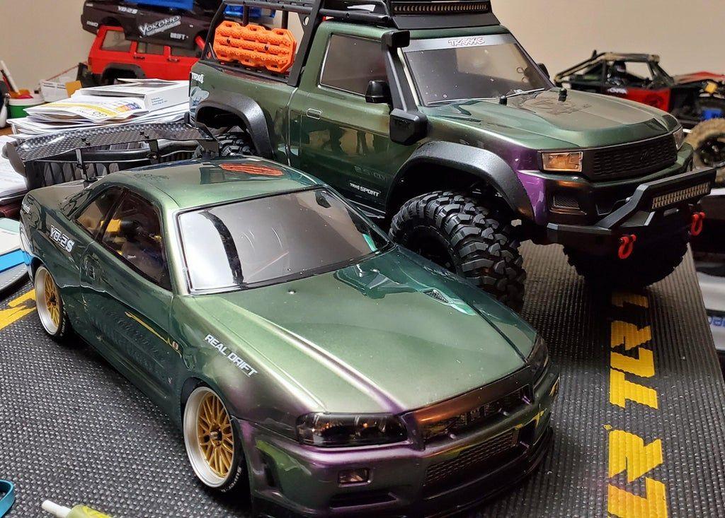 Twins .. TRX4 Sport Kit & Yokomo YD2S RWD Drift Kit