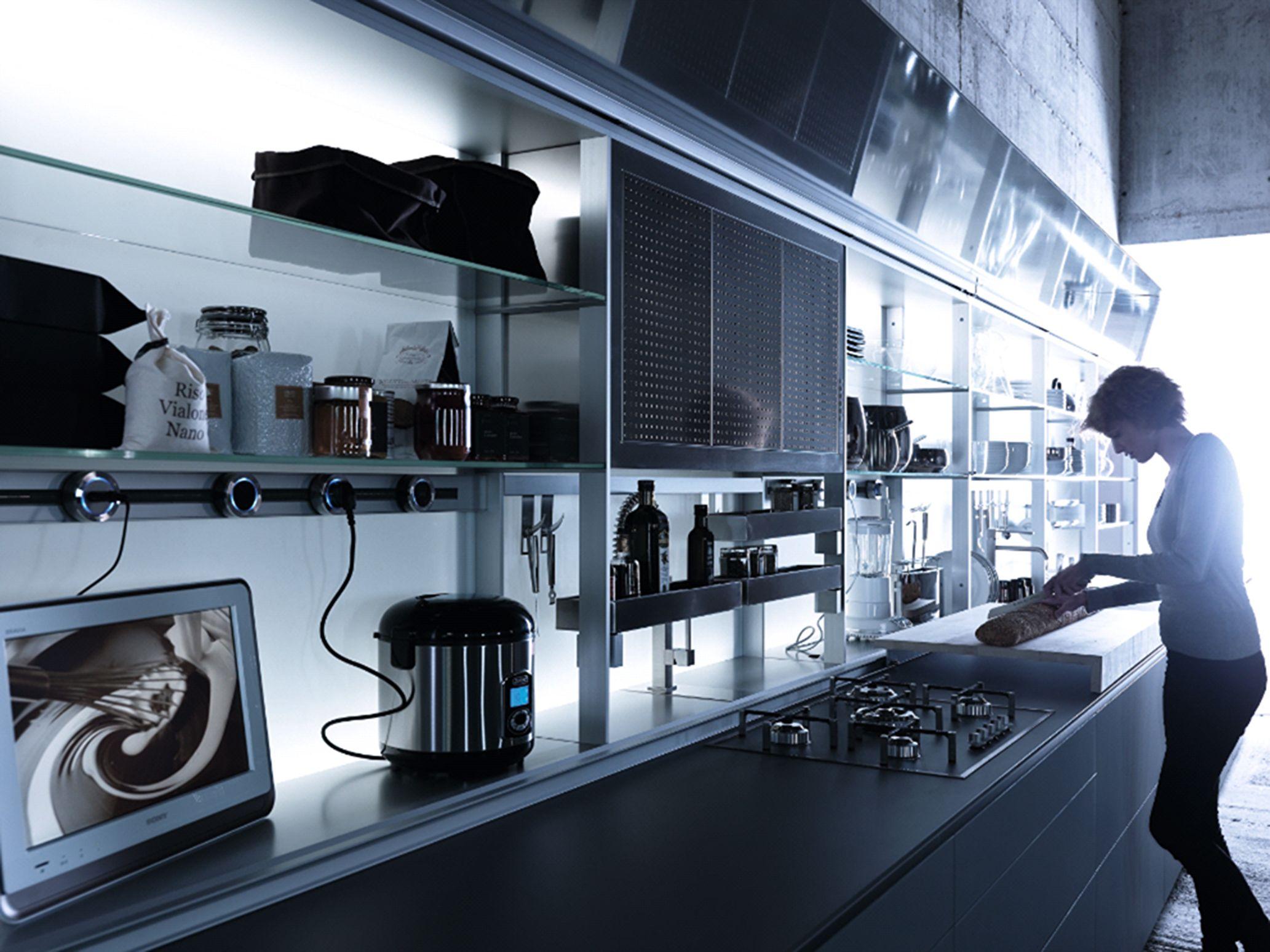 European Kitchen Brands Valcucine New Logica System Italian Kitchen Design Http Www