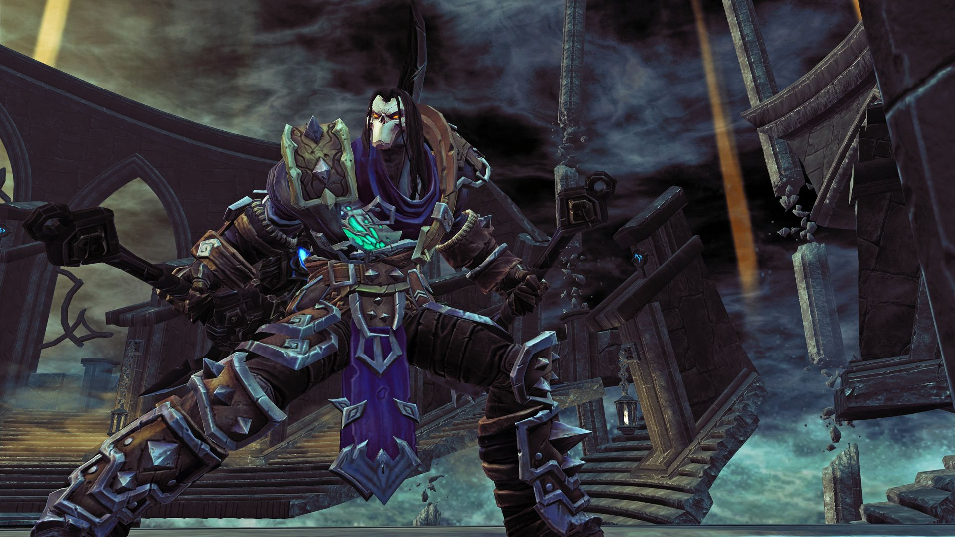 darksiders+2+game+death+strikes+wallpaper+joe+mad+madureira+art+
