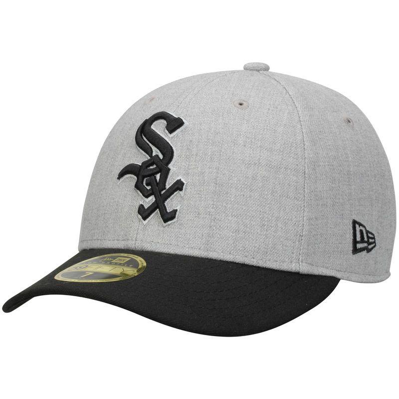 wholesale dealer 357d5 e725c Chicago White Sox New Era Change Up Low Profile 59FIFTY Structured Hat -  Gray Black