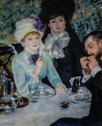 Pierre Auguste Renoir - The End of the Breakfast at Frankfurt Städel