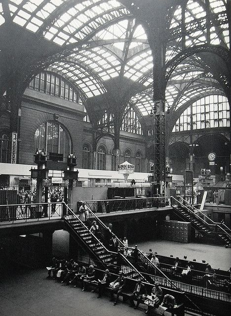 New York City 1960s Old Pennsylvania Station Vintage New York City Vintage New York Penn Station Nyc