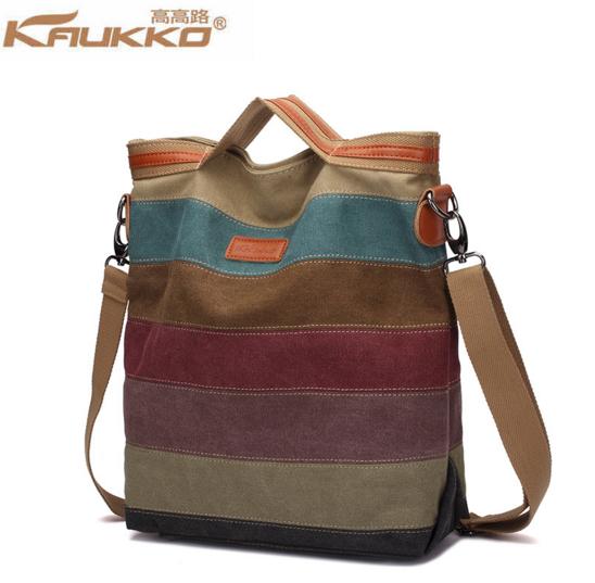 KAUKKO el yapımı premium kanvas çanta (SB18) Ücretsiz Kargo !!
