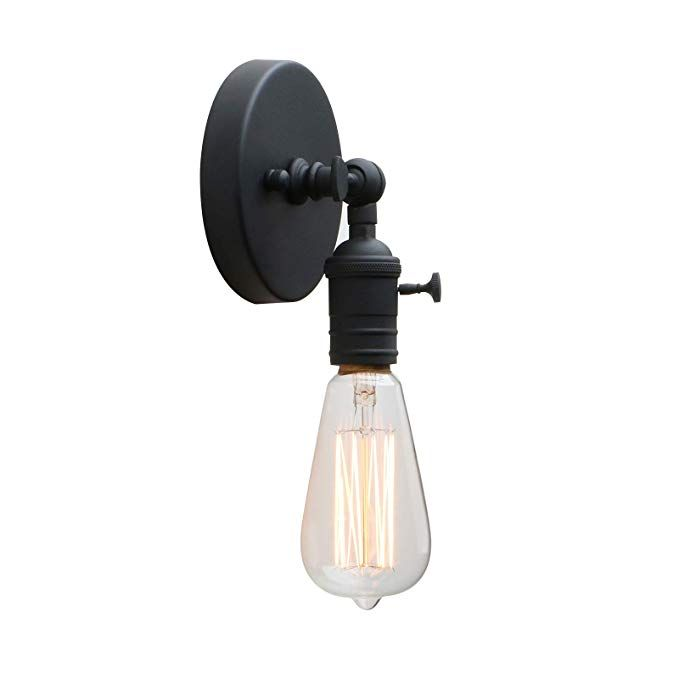 Lighting Permo Minimalist Single Socket 1 Light Wall Sconce Lighting With On Off Switch Home Furniture Diy New Times Bg