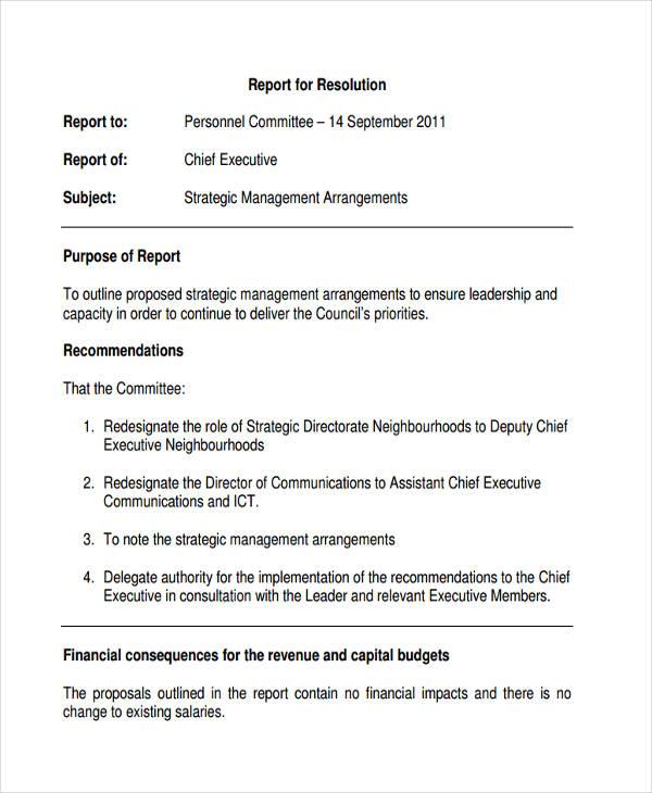 Strategic Management Report Template (3