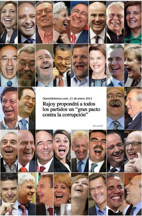 Los veo muy preocupados con la noticia.Spain .