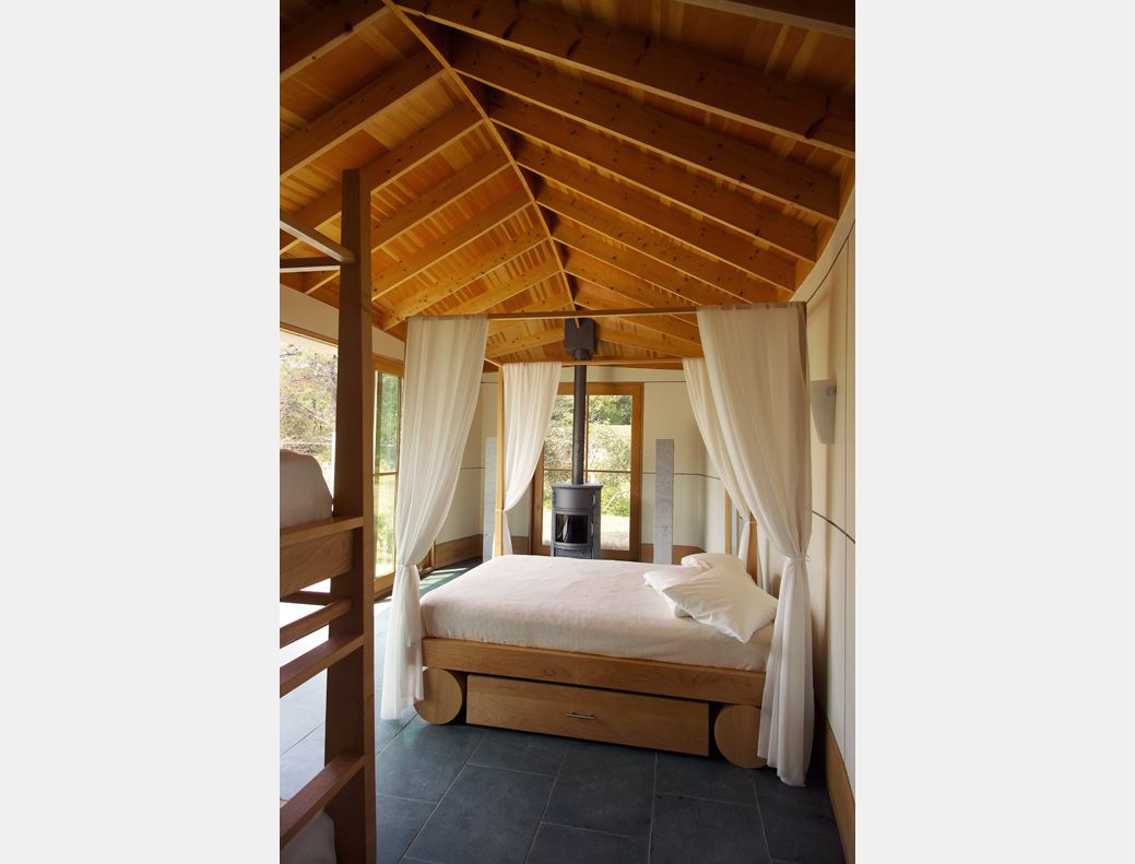 Loft bedroom privacy  Moskow Linn Architects open bedroom design  Bedrooms  Pinterest