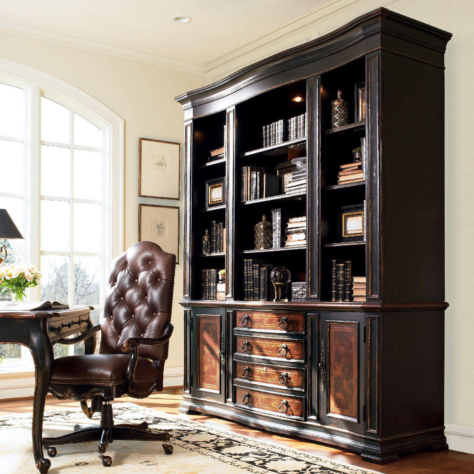 Charming Grandover Hooker Furniture | Hooker Furniture Grandover Bookcase Hutch    Bookcases At Hayneedle