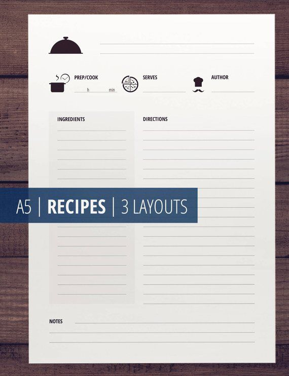 recipe printable recipe cards recipe pages and templates