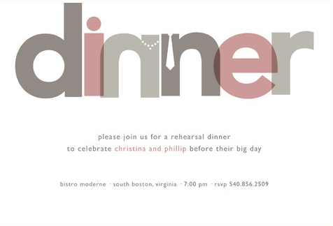 minted party invitation by jody wody - would be kinda cool for a rehersal dinner thing