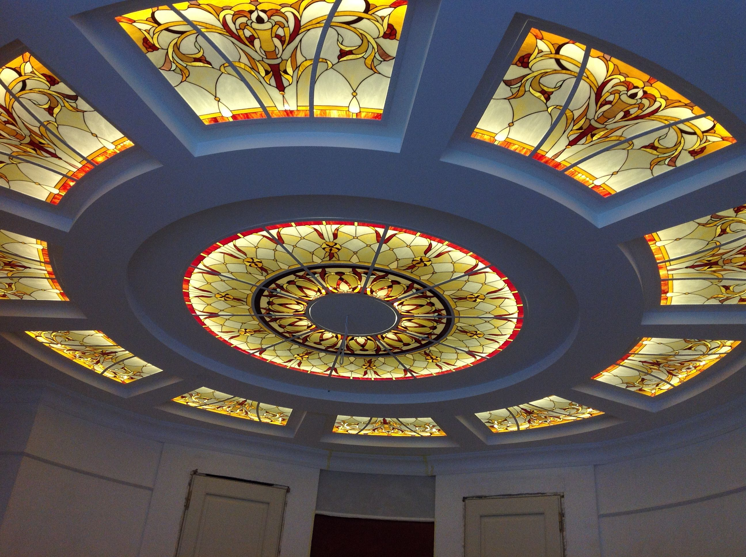 Pin By Toseef Ahmed On My Stained Glass Ceiling Design False Ceiling Design Ceiling Design Bedroom