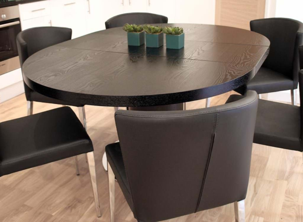 Expandable Round Dining Table U2013 To Point It With Reliable Of Ergonomically  Dimension And Wonderful Design Part 57
