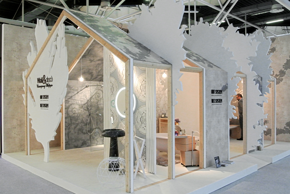 Exhibition Stand Wallpaper : Contemporary wallpaper wall & decò 室內篇 contemporary