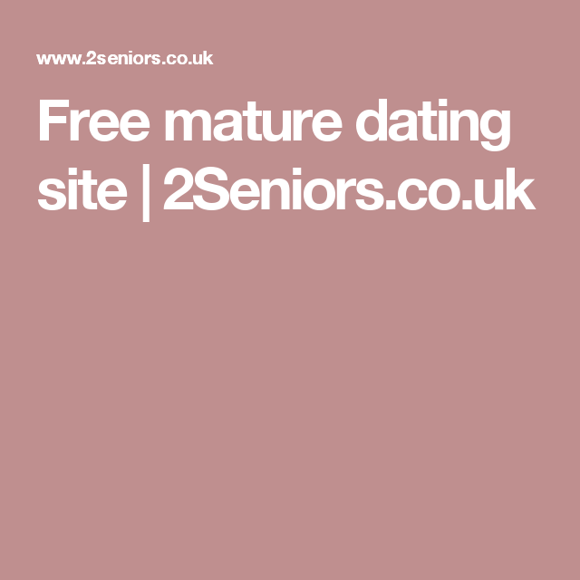 Older dating online free