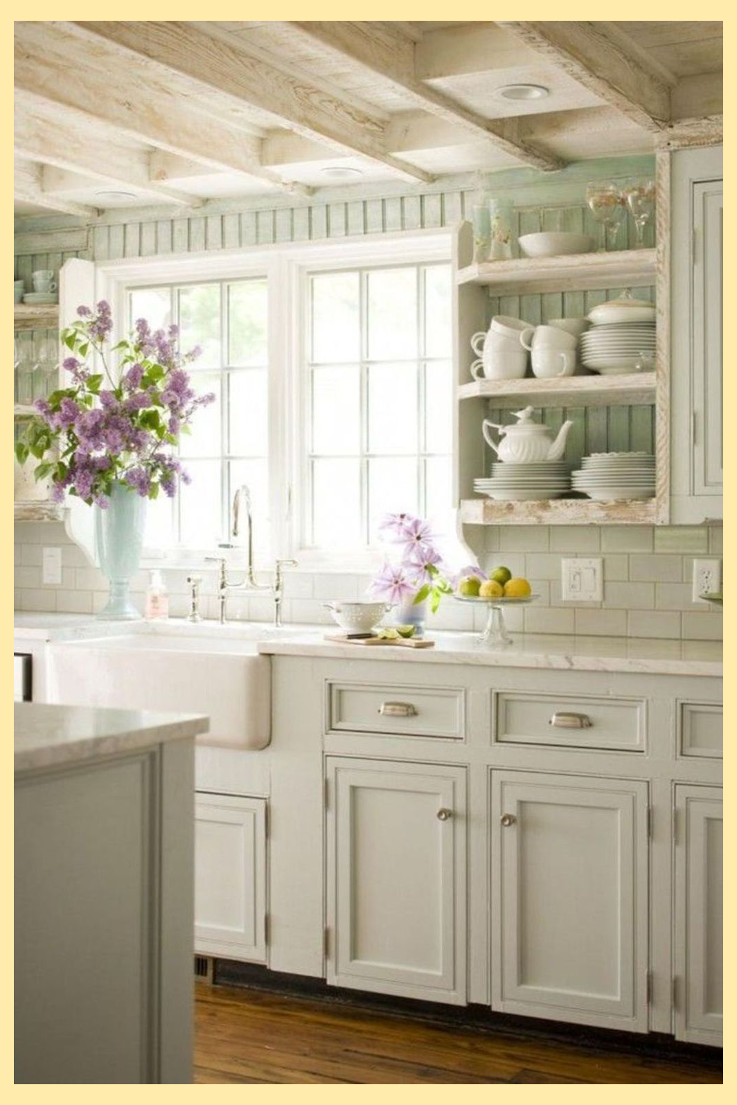 25 Lovely Shabby Chic Kitchen Ideas Striking Rooms For Cooking Shabbychickitchen Farm Style Kitchen Shabby Chic Kitchen Cabinets Country Kitchen Designs