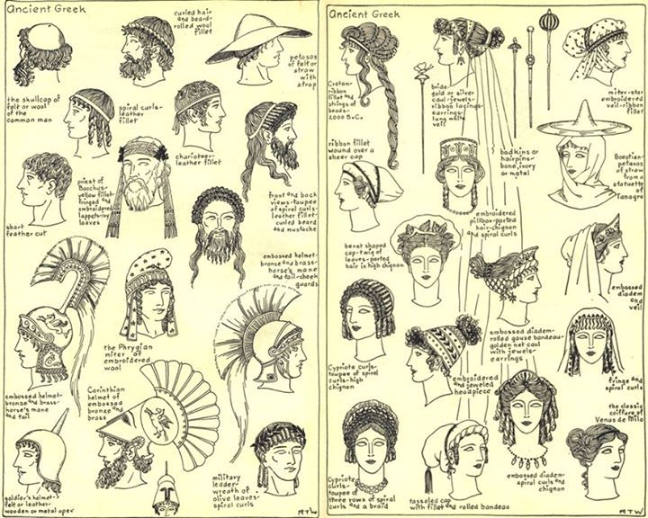 Greek Hair Styles Ancient Greece Ancient Greek Clothing Ancient
