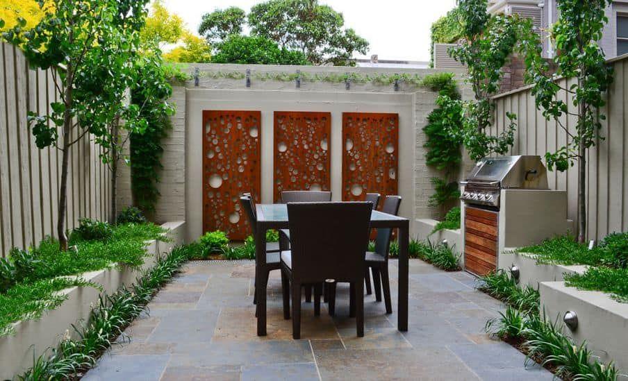 Awesome 39 Contemporary Style Tiny Backyard Ideas Shrink My