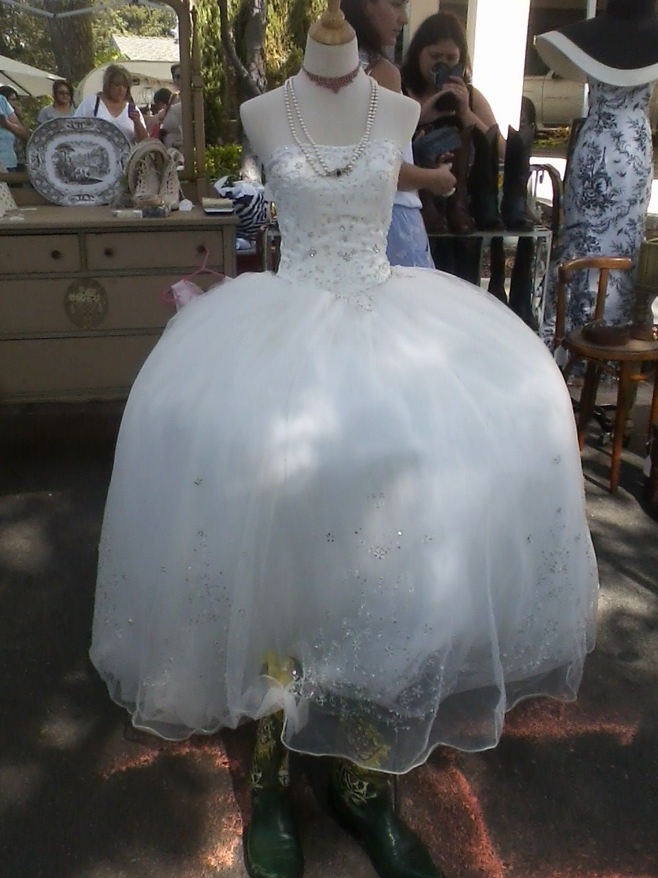 30++ Wedding gowns with cowboy boots ideas