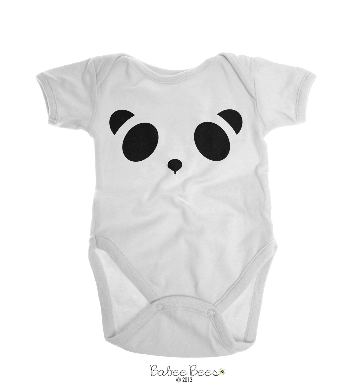 Panda Baby Clothes Panda Baby Costume Panda Shirt Cute Baby Girl