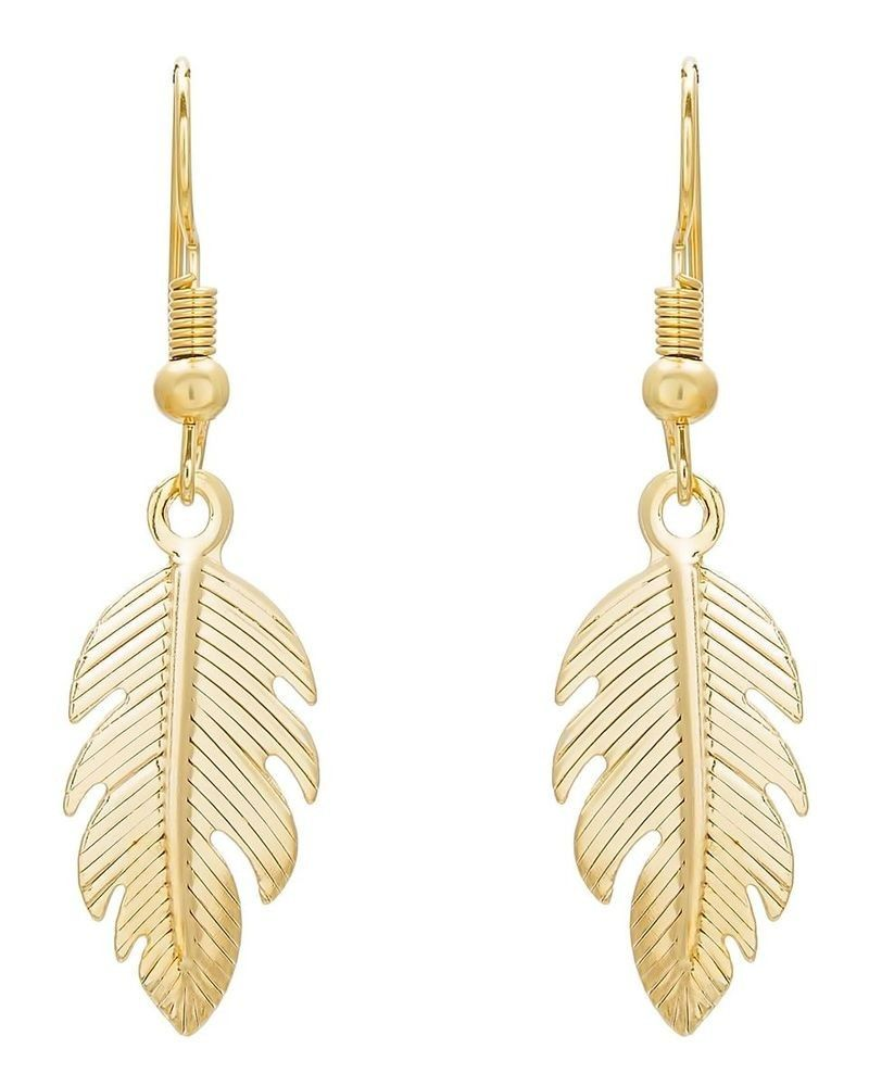 Brass Gold Earrings for girls | Girl online, Beautiful earrings ...
