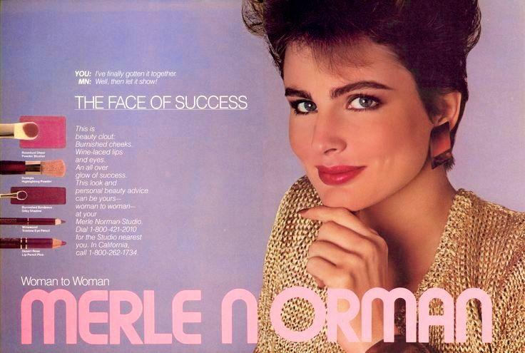 Merle Norman Cosmetics Ad 1986 Beauty Ad Retro Beauty Beauty Advice