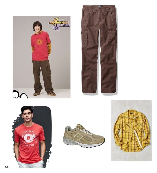 """Oliver Oken"" by spikequeen ❤ liked on Polyvore featuring CPO, Gap, L.L.Bean, New Balance, men's fashion and menswear"