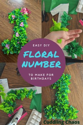 Miss Mack will be 1 on Saturday , her party is sunday and since she loves Moana I decided to make that the 'theme'. After scouring Pinterest, I decided to make a number to hang above h…