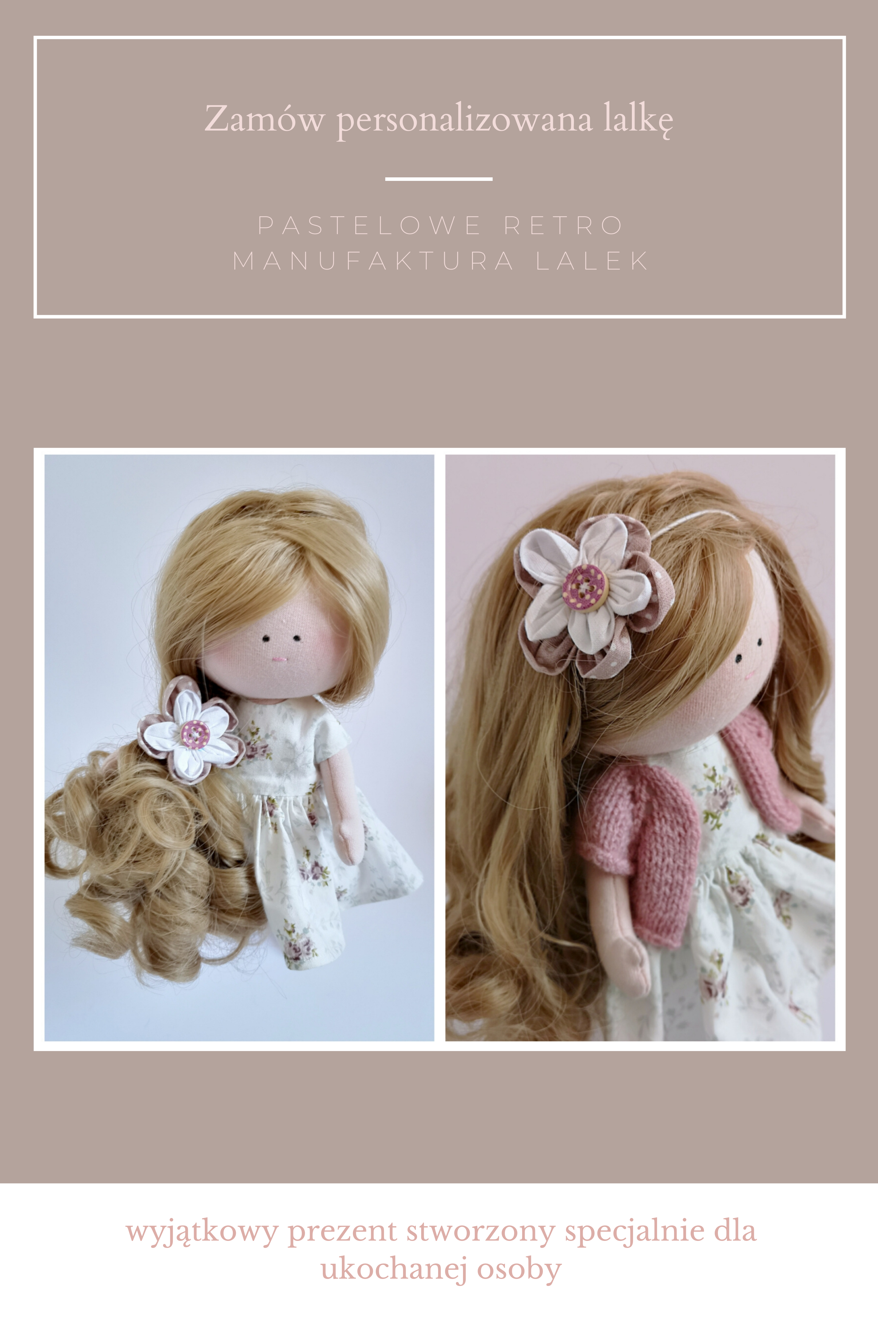Personalized Doll Brithday Present For Girl Dolls Handmade Personalized Dolls Presents For Girls