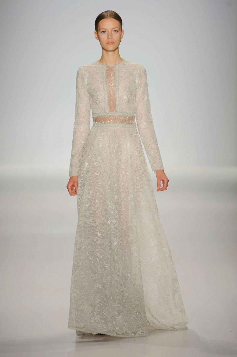 Tadashi shoji spring runway pictures beautiful wedding and