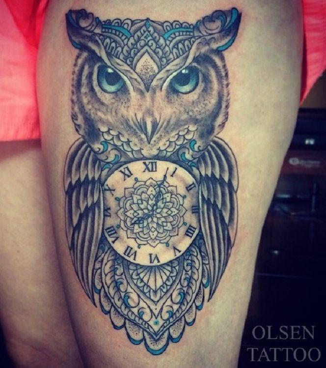 Owl Tattoos Yeahtattoos Com Owl Tattoo Tattoos Owl Thigh Tattoos