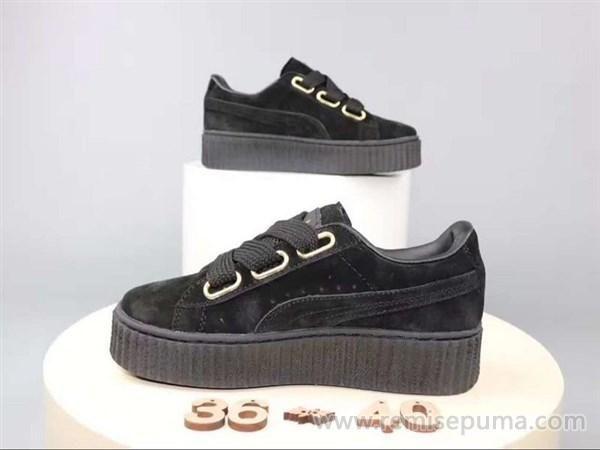 Tendance Chaussures 2017/ 2018  Chaussures Puma Femme Puma Rihanna noir  couleur est beaucoup plus