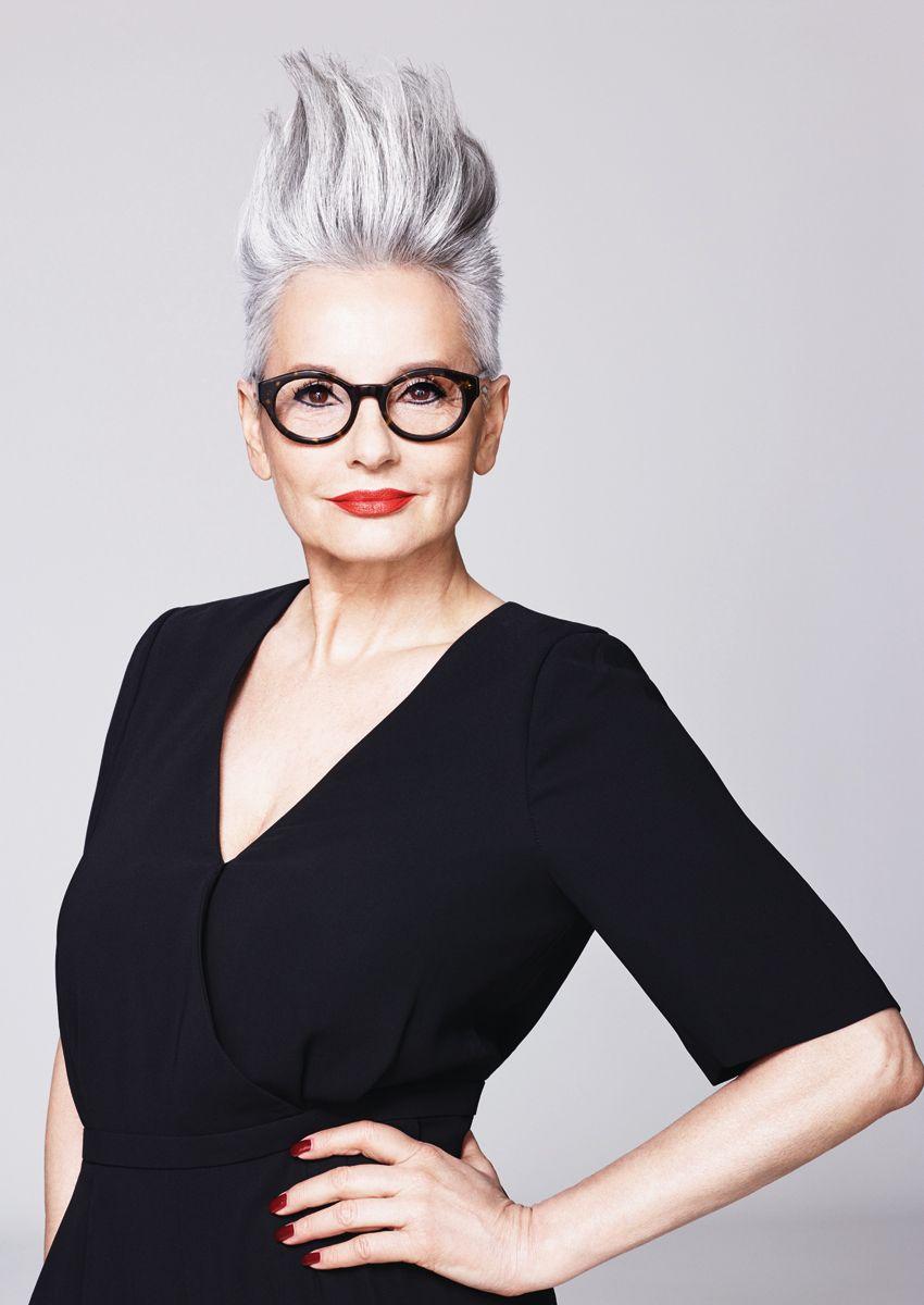 Luxus Frisuren Graue Haare Frauen | Finden Sie die beste