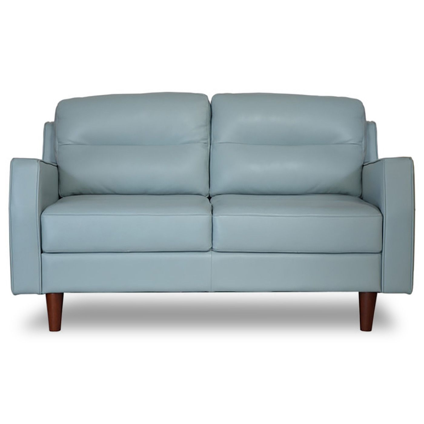 Best Valley Spring Leather Apartment Size Sofa Sky Blue 640 x 480
