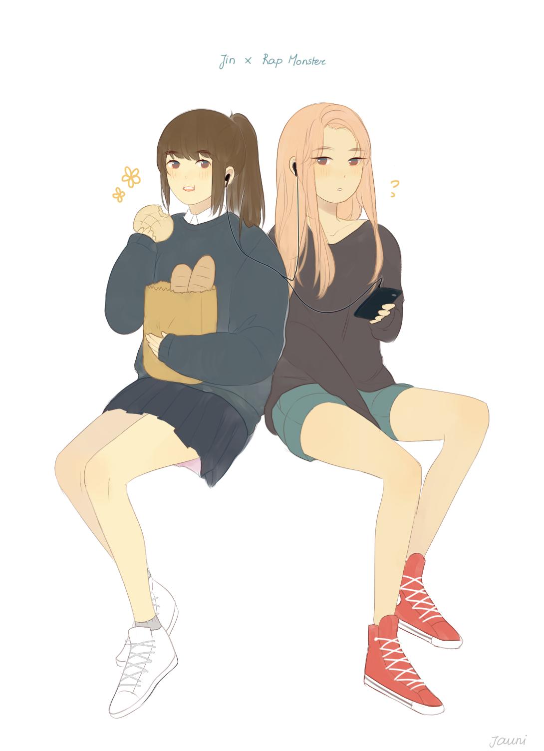 Once you namjin, you can't namjout ©