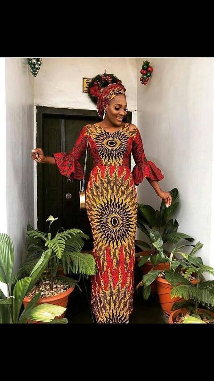 Ankara styles,Ankara fashion, Kitenge, Prom dress, Ankara wedding dress,Ankara dress,infinity dress,African dresses for women,African attire #ankarastil
