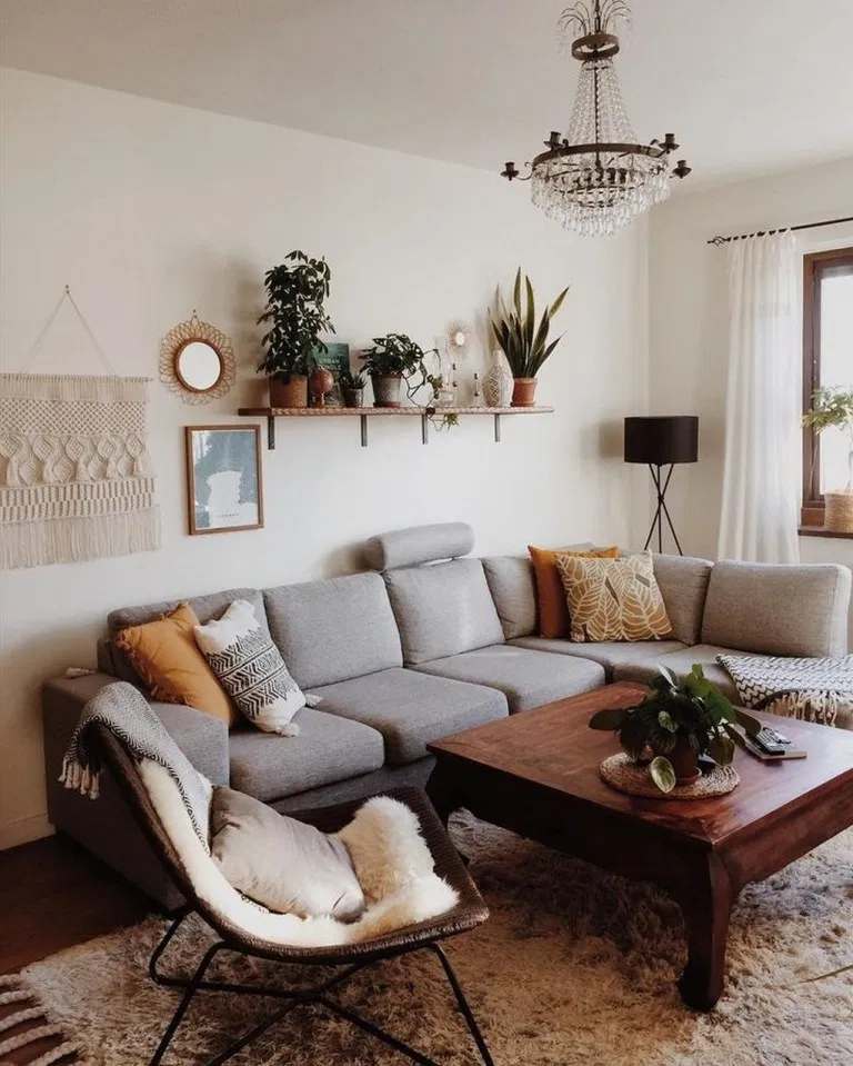 39 perfect apartment living room decor ideas on a budget ... on Boho Bedroom Ideas On A Budget  id=11309