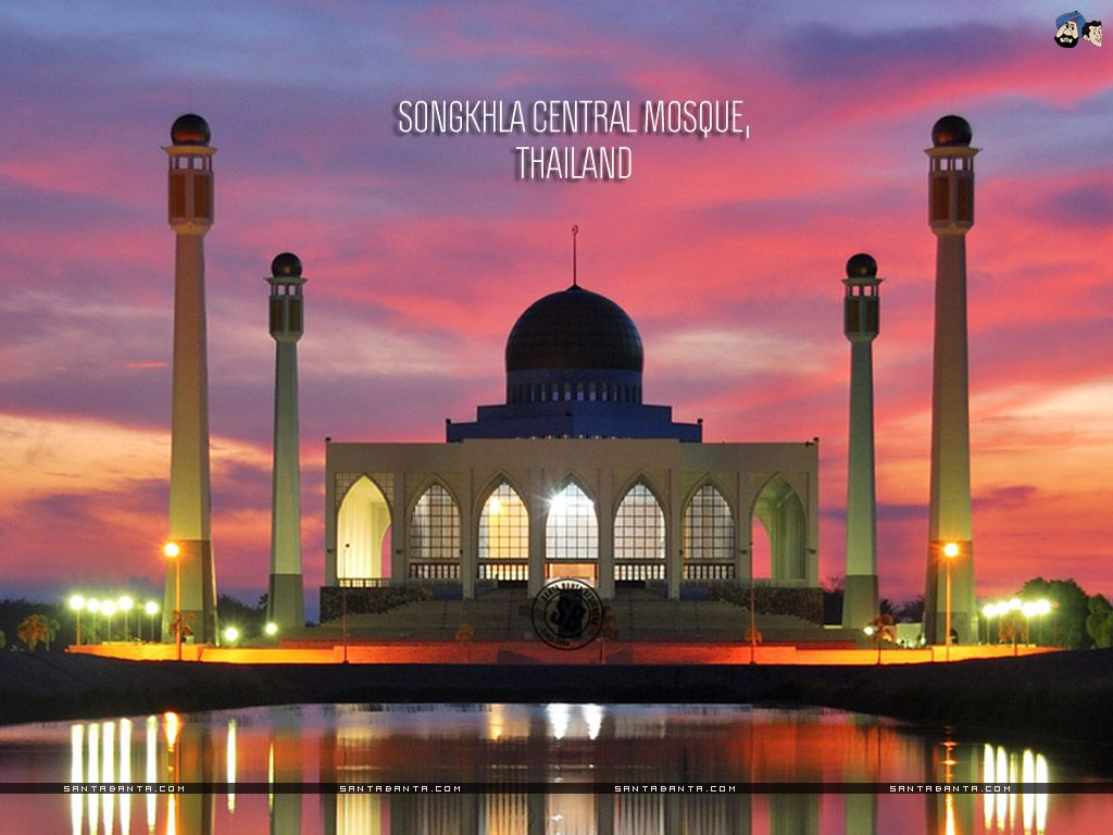 Songkhla Central Mosque Thailand Beautiful Mosques Mosque Mecca Mosque