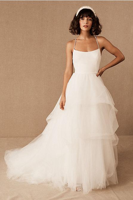 Nouvelle Amsale Cera Gown – Wedding- NEW