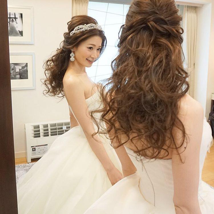 Bridal Hairstyle おしゃれまとめの人気アイデア Pinterest Xiiao