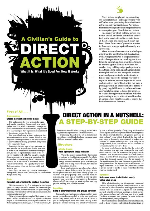 Anarchism. Crimethinc. Direct action, Directions, Anarchism