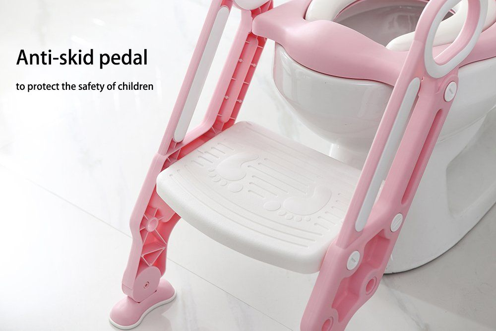 Amazing Iapetus Potty Toilet Training Seat With Step Stool Ladder Machost Co Dining Chair Design Ideas Machostcouk
