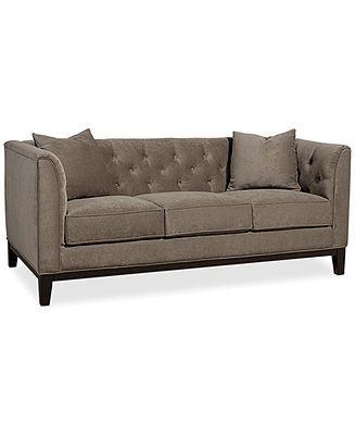 699 Giselle Fabric Sofa Furniture Sale Furniture Macy S