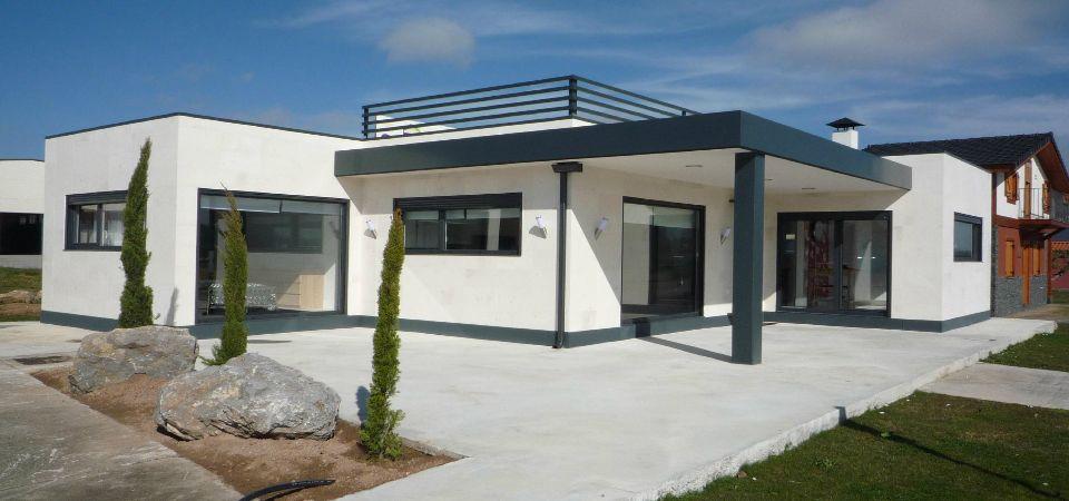 Casa prefabricada vanguardista m s informaci n en - Casas prefabricadas sostenibles ...