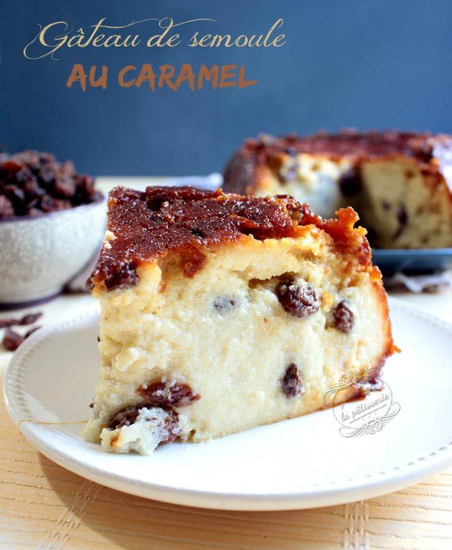Recette Gateau Sec Fleur D Oranger: Gâteau De Semoule Au Caramel