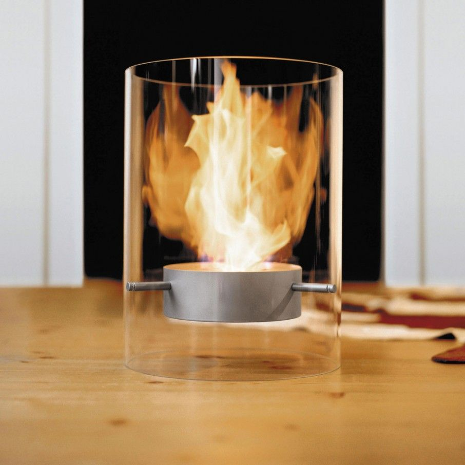 Inspirational Glass Tube Ponton Indoor Outdoor Fireplace Portable ...