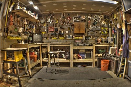 Garage Workshop, Man