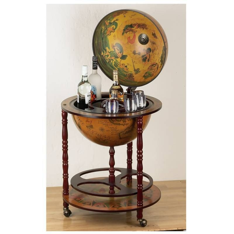 "kassel 17-1/2"" (450mm) diameter italian replica globe bar | favorite"