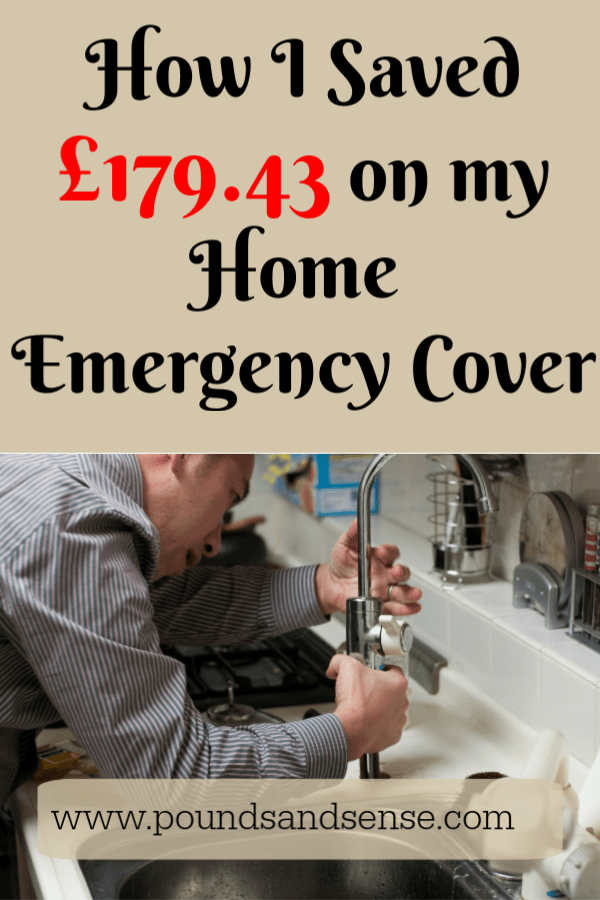 How I Saved 179 43 On My Home Emergency Cover Pounds And Sense